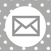 grey white polka dot email social media icon